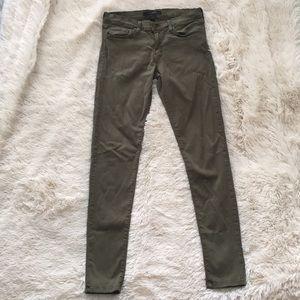 Flying Monkey olive green jeans!